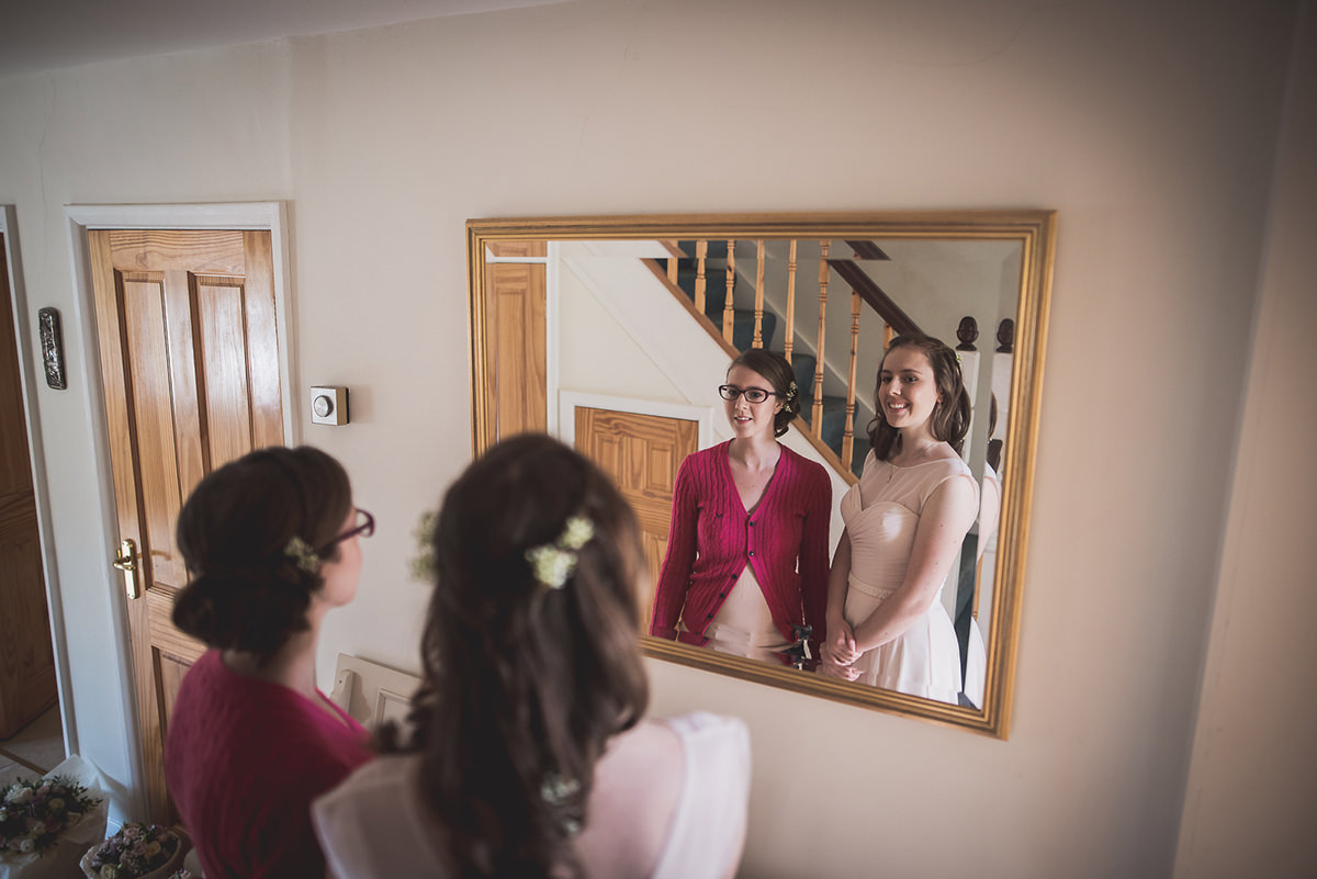 Farnham Castle Wedding Photography | Amelia & Ollie 03 Brides make up 1