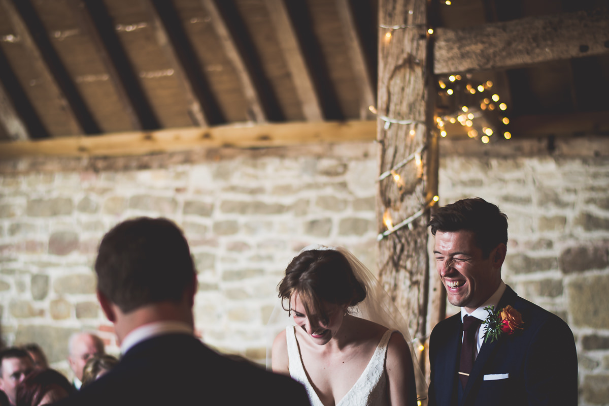 Grittenham Barn Wedding Photography | Hannah & Chris 10 Watching the action 1