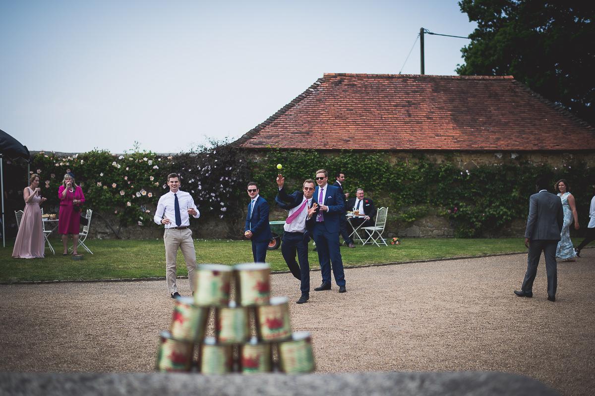 Grittenham Barn Wedding Photography | Hannah & Chris 21 The boys chatting 1