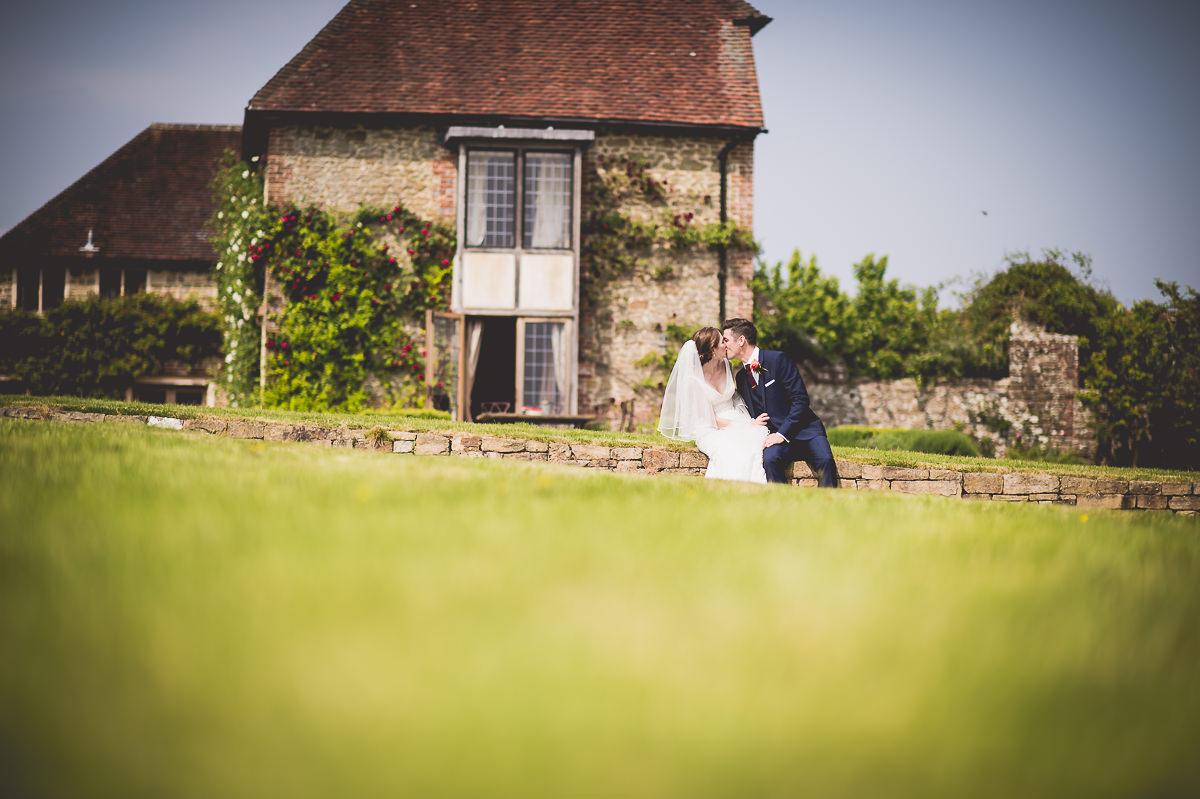 Grittenham Barn Wedding Photography   Hannah & Chris 26 The wedding ceremony 1