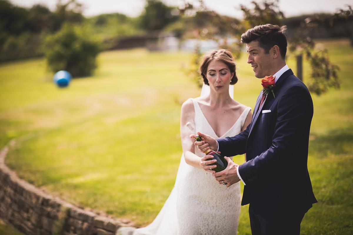 Grittenham Barn Wedding Photography | Hannah & Chris 27 The wedding ceremony colour 1