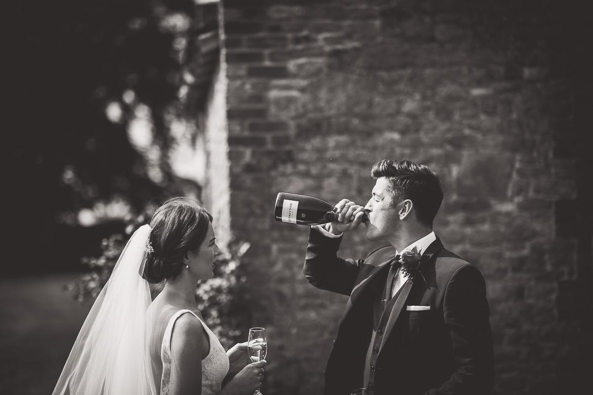 Grittenham Barn Wedding Photography | Hannah & Chris 28 Cute little wedding guest 1
