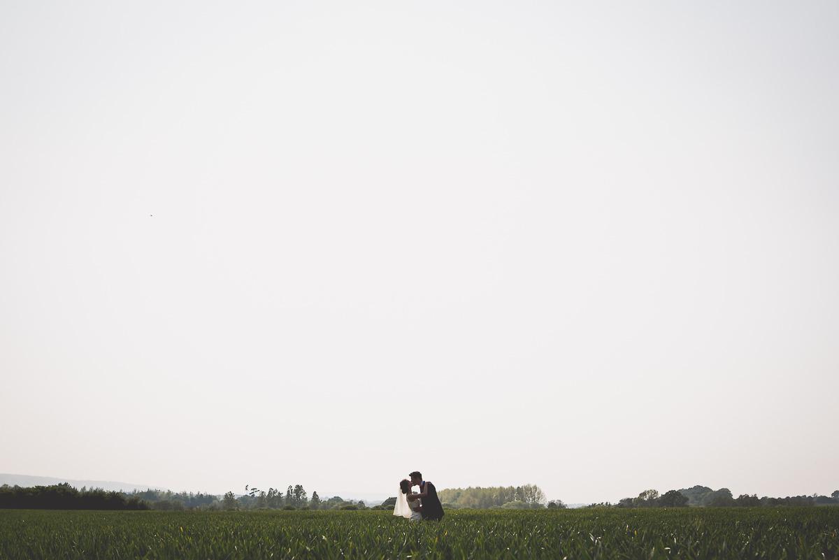 Grittenham Barn Wedding Photography | Hannah & Chris 37 table centre piece 1