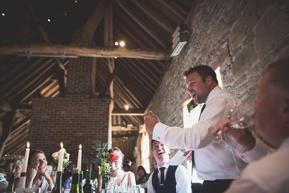 Grittenham Barn Wedding Photography | Hannah & Chris 44 Bridal portrait bw 1