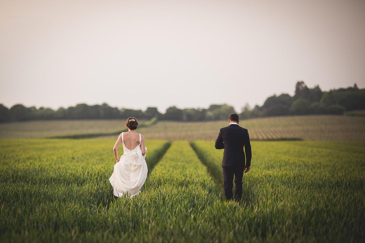 Grittenham Barn Wedding Photography | Hannah & Chris 55 Grooms speech colour 1