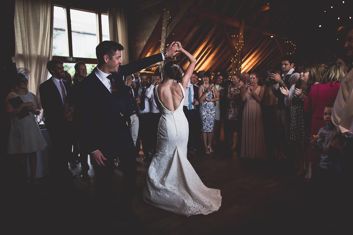 Grittenham Barn Wedding Photography | Hannah & Chris 63 laughing at a selfie 1