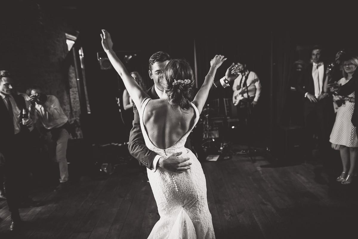 Grittenham Barn Wedding Photography | Hannah & Chris 66 funny group 1