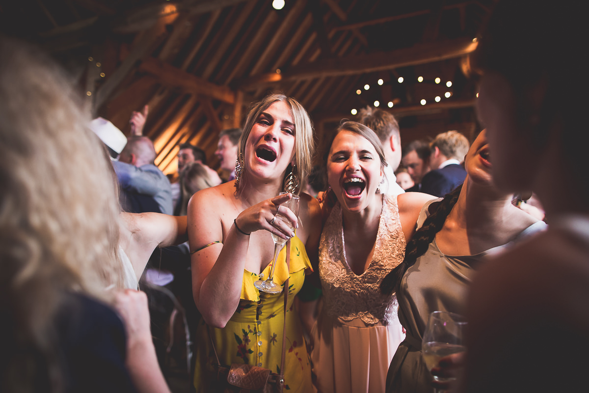 Grittenham Barn Wedding Photography | Hannah & Chris 70 first dance colour 1