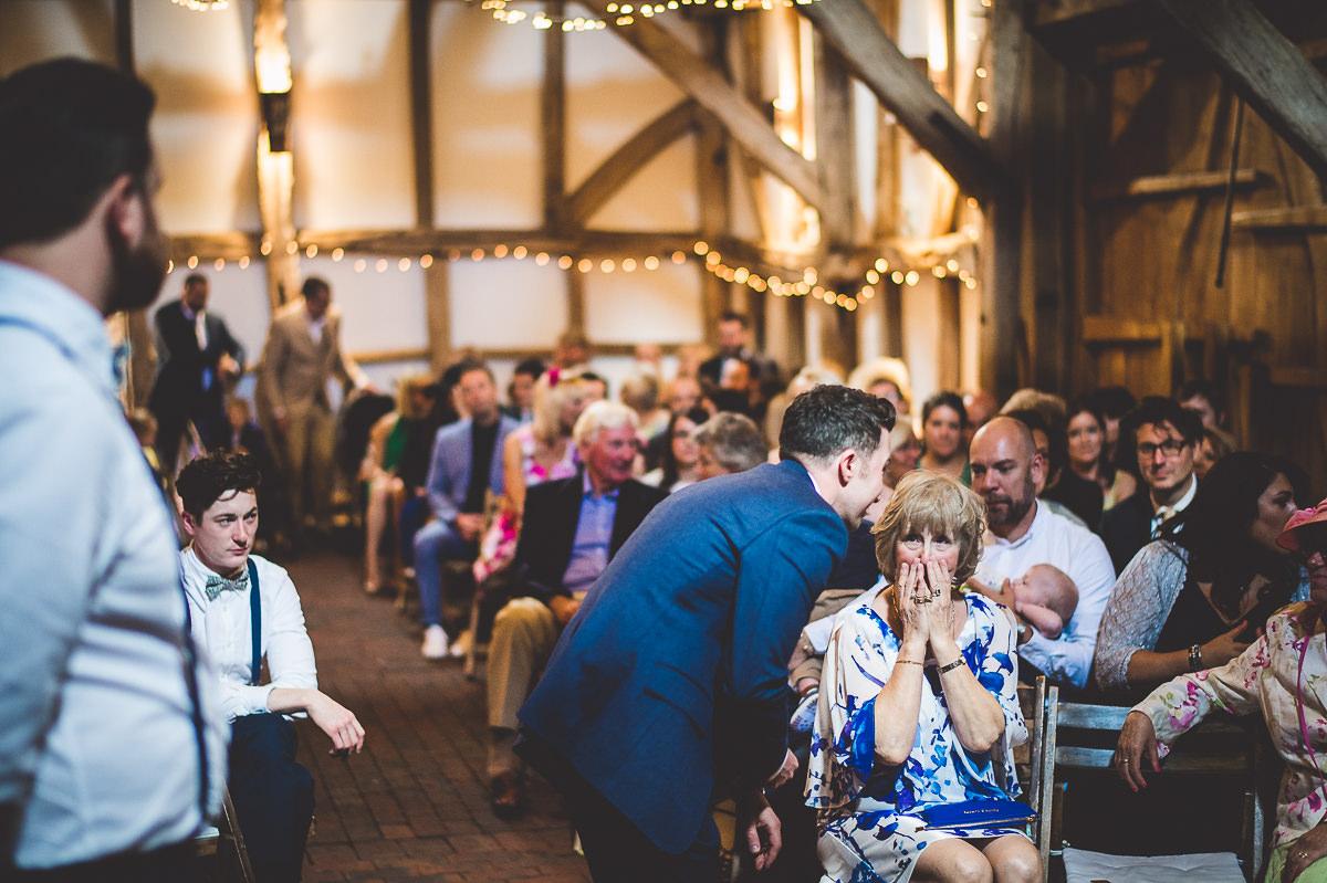 Old Greens Barn Wedding | Holly & Ben 14 Bridal hair piece