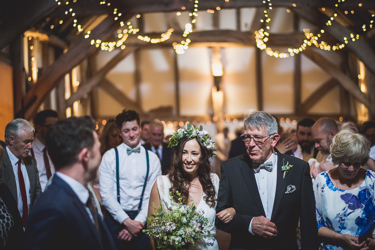 Old Greens Barn Wedding | Holly & Ben 16 Last adjustments