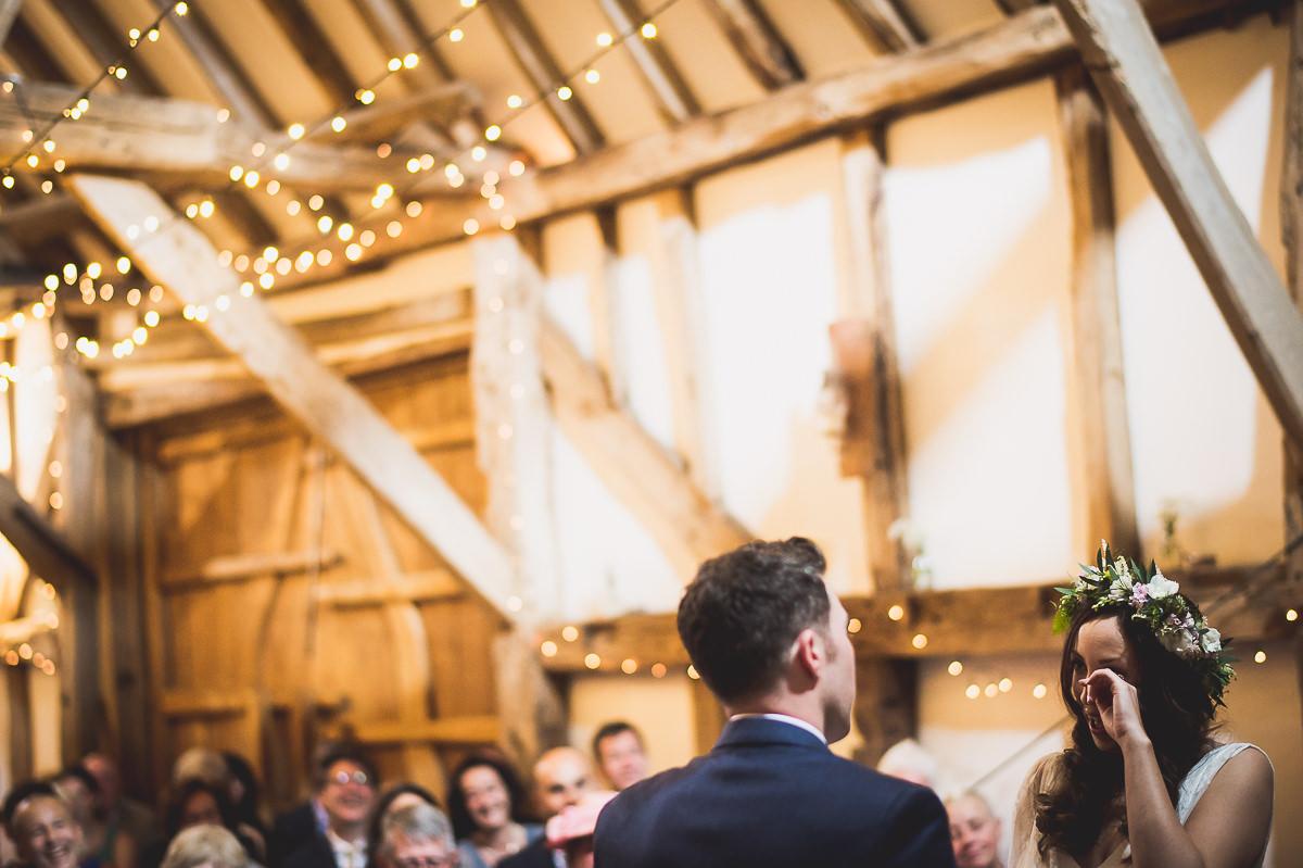 Old Greens Barn Wedding | Holly & Ben 18 Beautiful bride