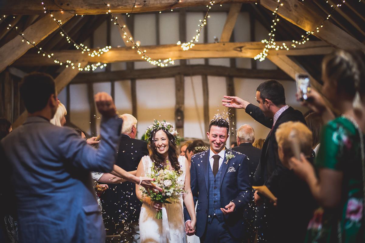 Old Greens Barn Wedding | Holly & Ben 19 Beautiful bride bw