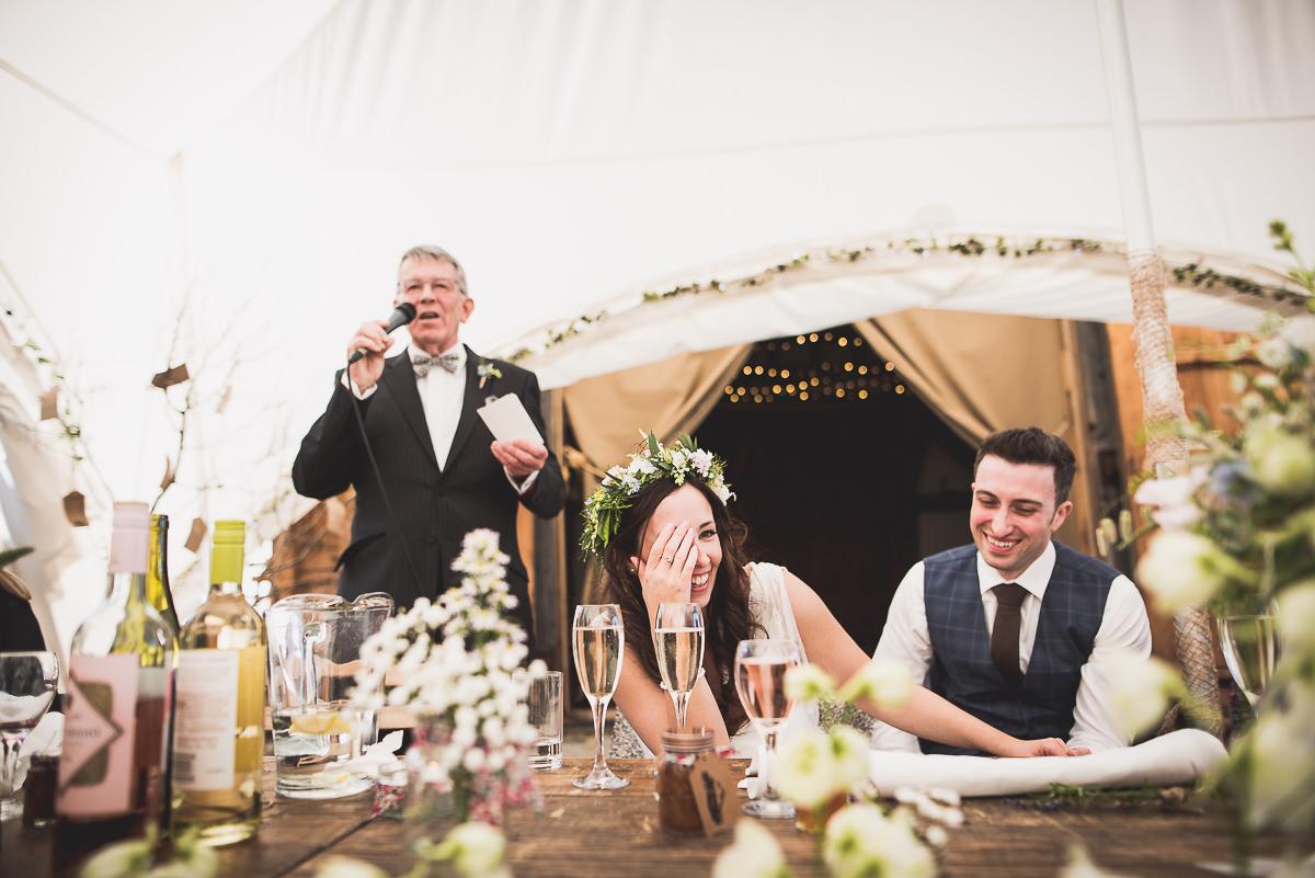 Old Greens Barn Wedding | Holly & Ben 36 wedding cake 2
