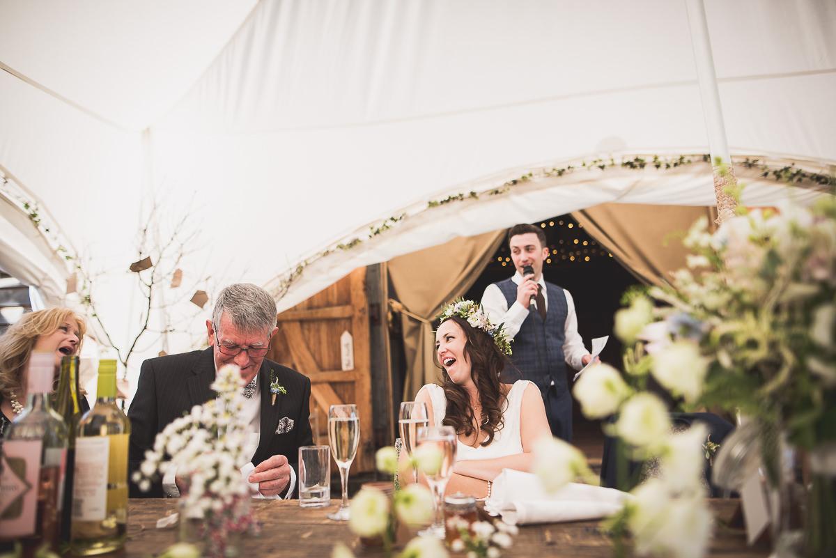 Old Greens Barn Wedding | Holly & Ben 37 table centre piece