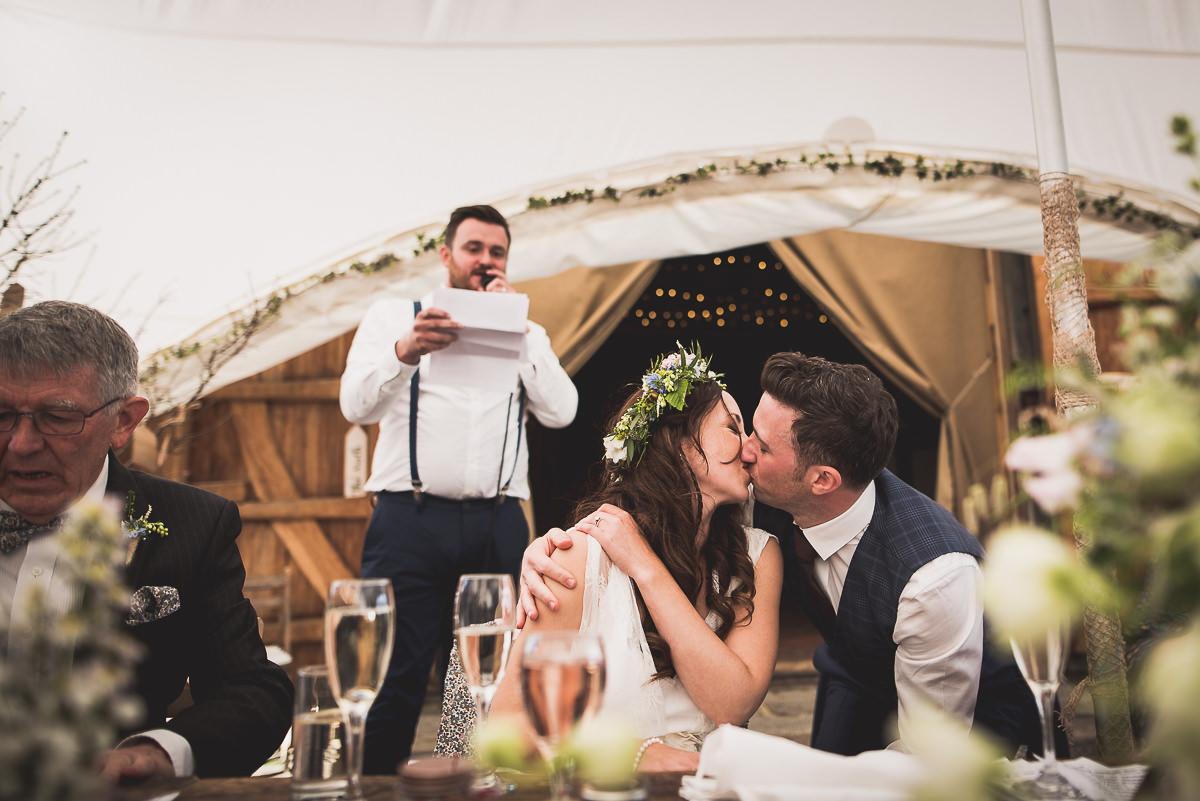Old Greens Barn Wedding | Holly & Ben 44 Bridal portrait bw