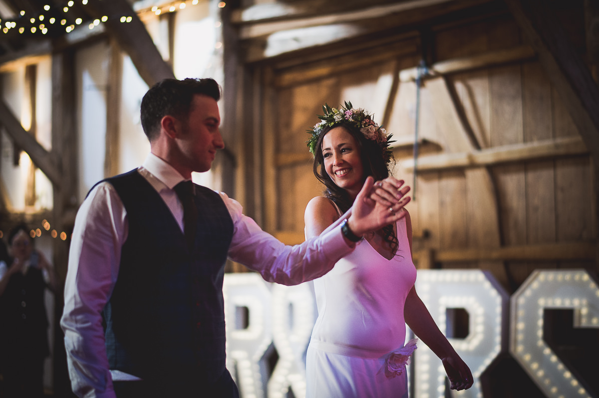 Old Greens Barn Wedding | Holly & Ben 49 Bridal flowers