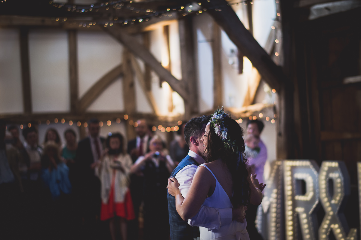 Old Greens Barn Wedding | Holly & Ben 52 The speech begins