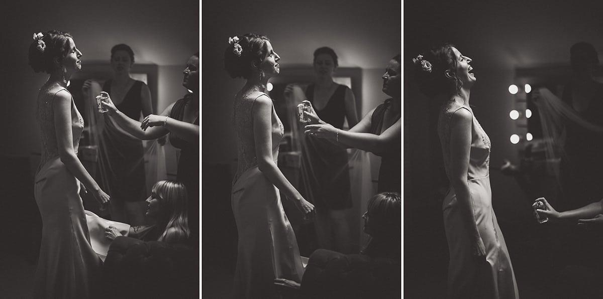 Millbridge Court Wedding Photography | Barbora & Matt 06 Groom at the window