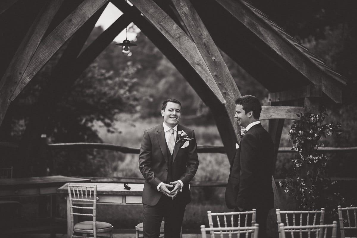 Millbridge Court Wedding Photography | Barbora & Matt 10 Watching the action