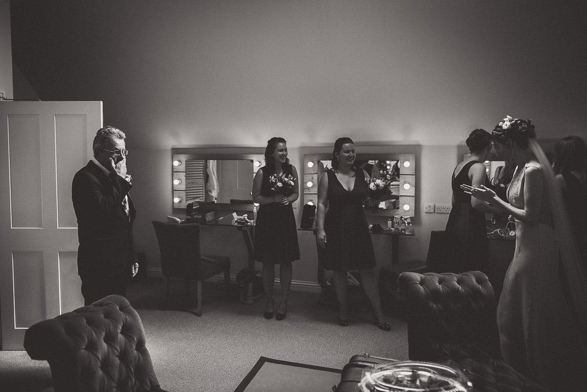 Millbridge Court Wedding Photography | Barbora & Matt 12 Happy Groom