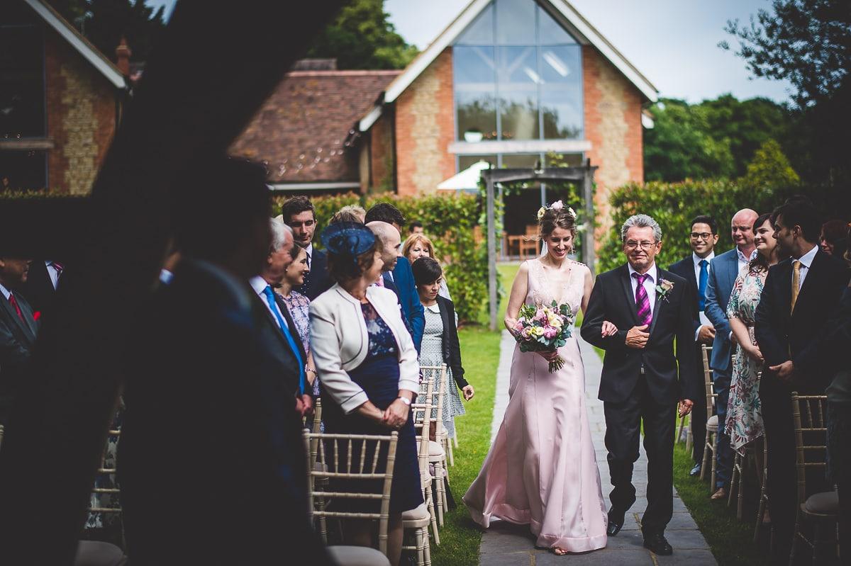 Millbridge Court Wedding Photography | Barbora & Matt 14 Bridal hair piece