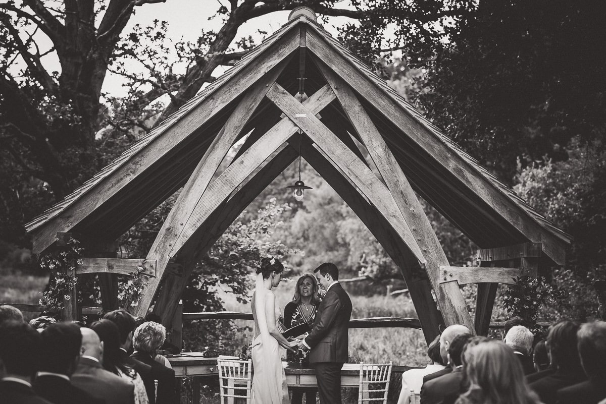 Millbridge Court Wedding Photography | Barbora & Matt 15 Bridal hair piece black and white