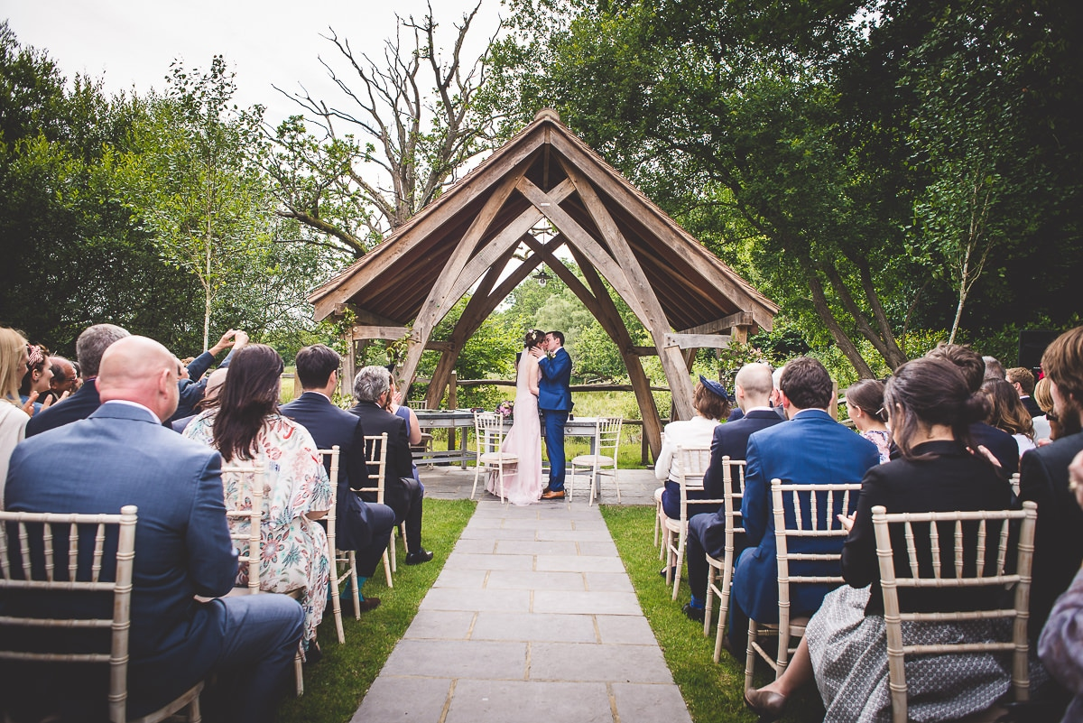 Millbridge Court Wedding Photography | Barbora & Matt 18 Beautiful bride