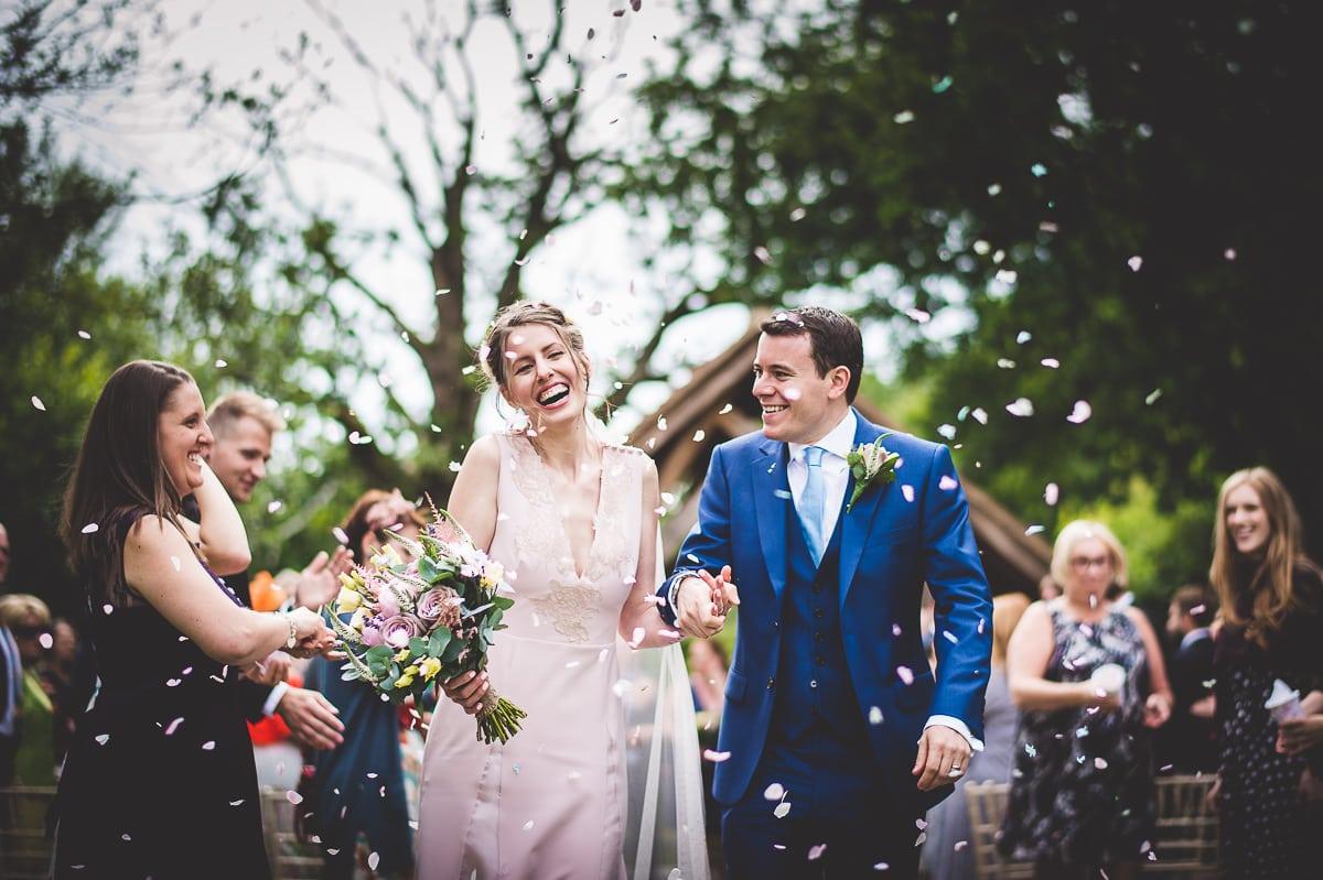 Millbridge Court Wedding Photography | Barbora & Matt 22 First sight of the bride