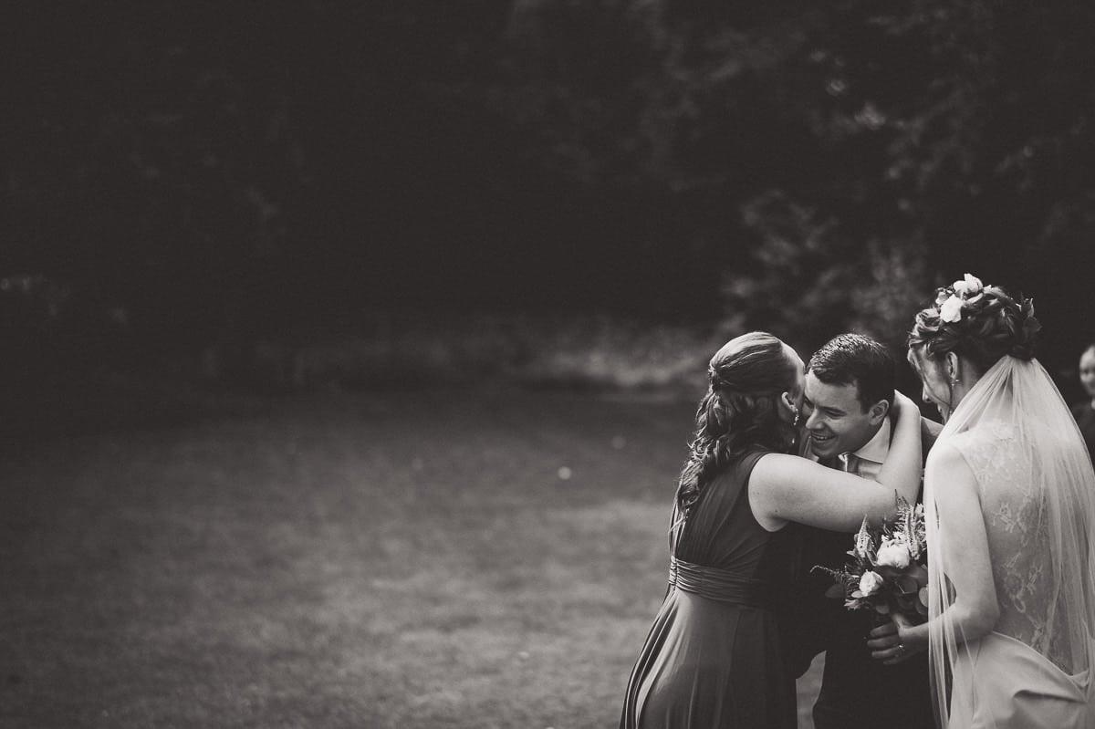 Millbridge Court Wedding Photography | Barbora & Matt 23 Walking down the aisle