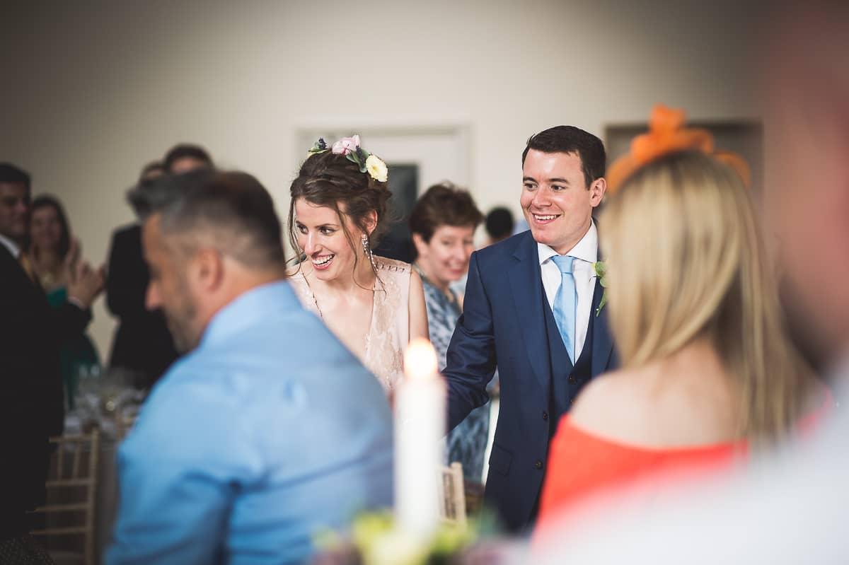 Millbridge Court Wedding Photography | Barbora & Matt 37 table centre piece