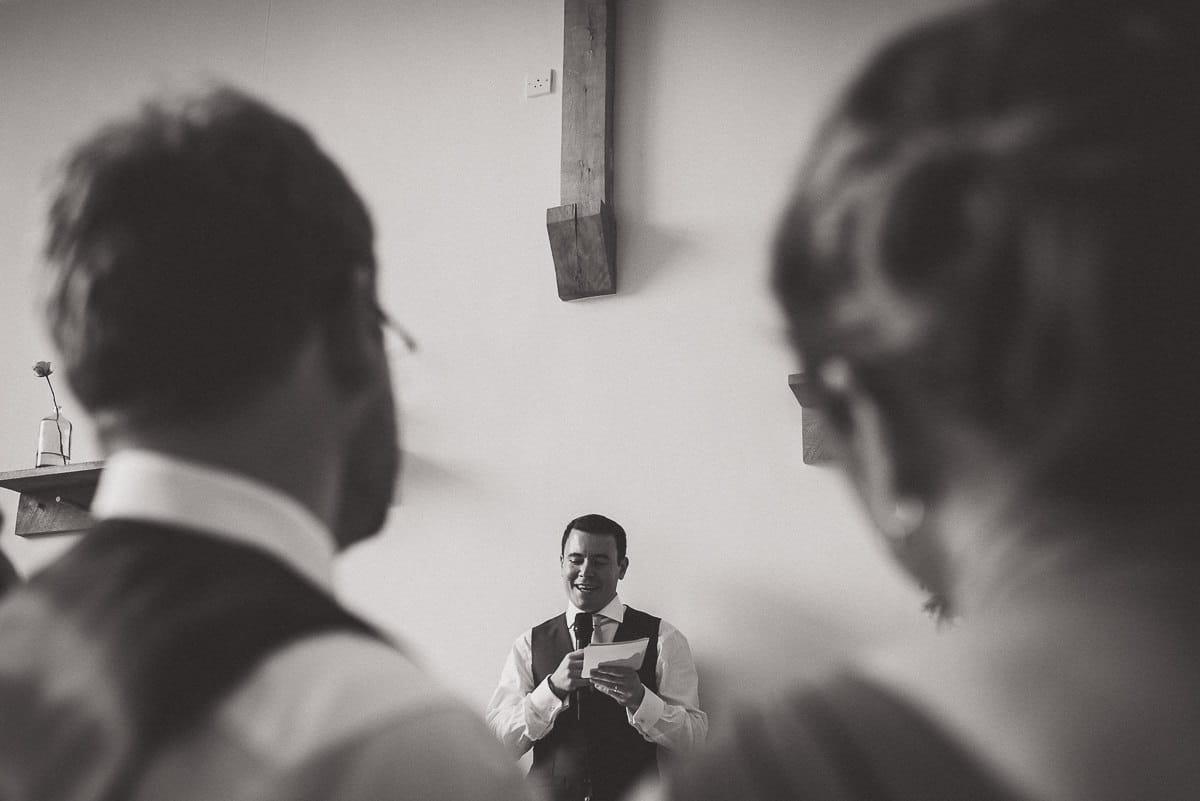 Millbridge Court Wedding Photography | Barbora & Matt 41 couple portrait black and white