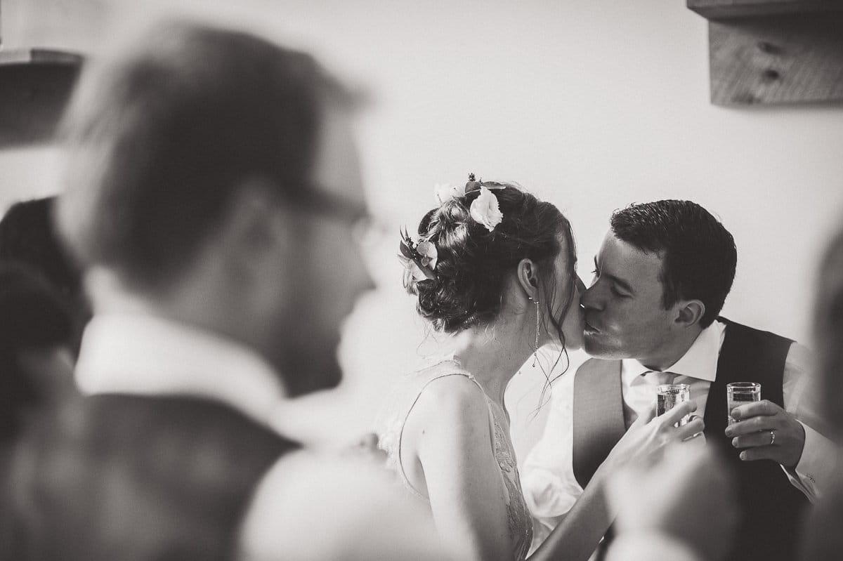Millbridge Court Wedding Photography | Barbora & Matt 44 Bridal portrait bw