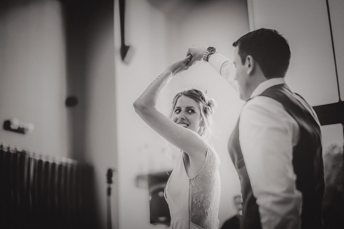 Millbridge Court Wedding Photography | Barbora & Matt 51 ring portrait