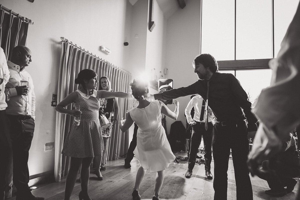 Millbridge Court Wedding Photography | Barbora & Matt 63 laughing at a selfie