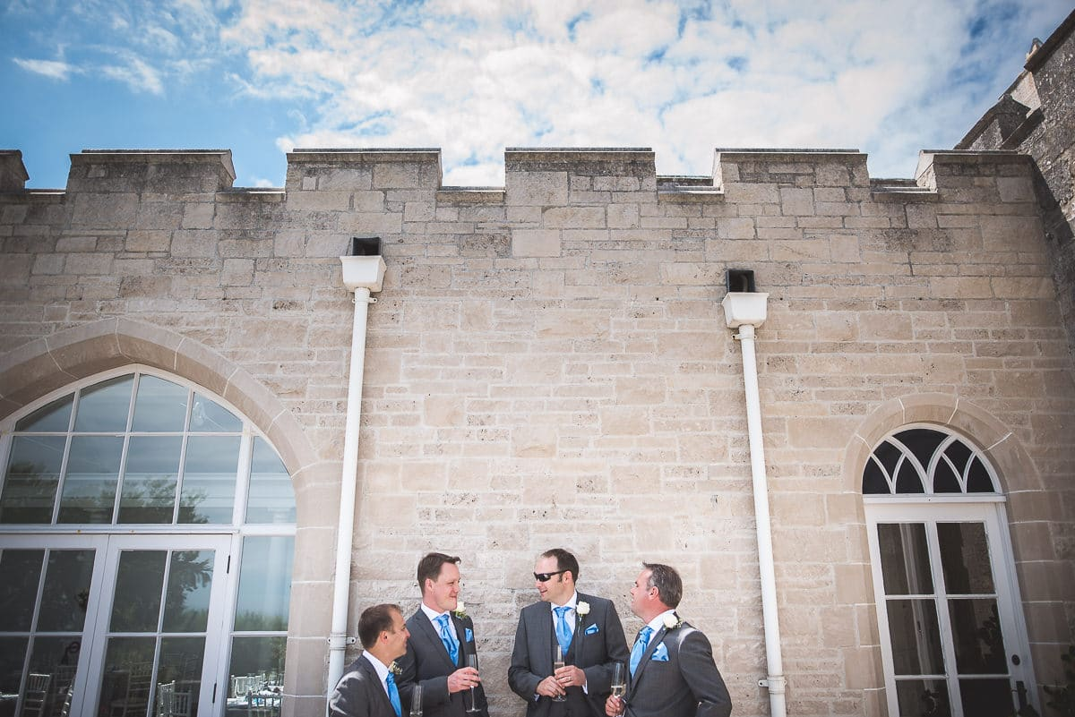 Pennsylvania Castle groomsmen