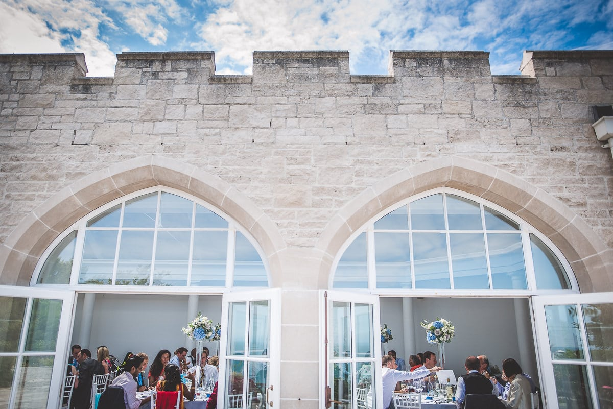 Pennsylvania Castle wedding breakfast