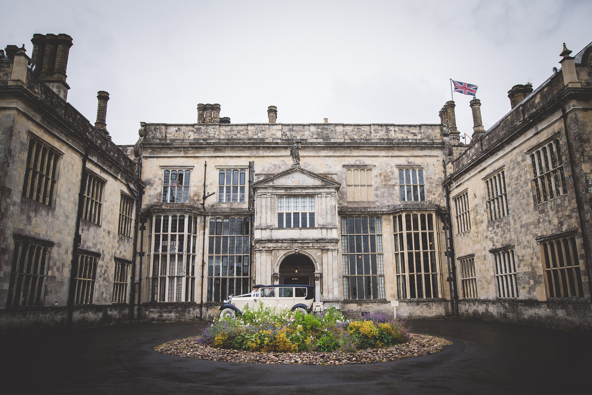 Wiston House front entrance