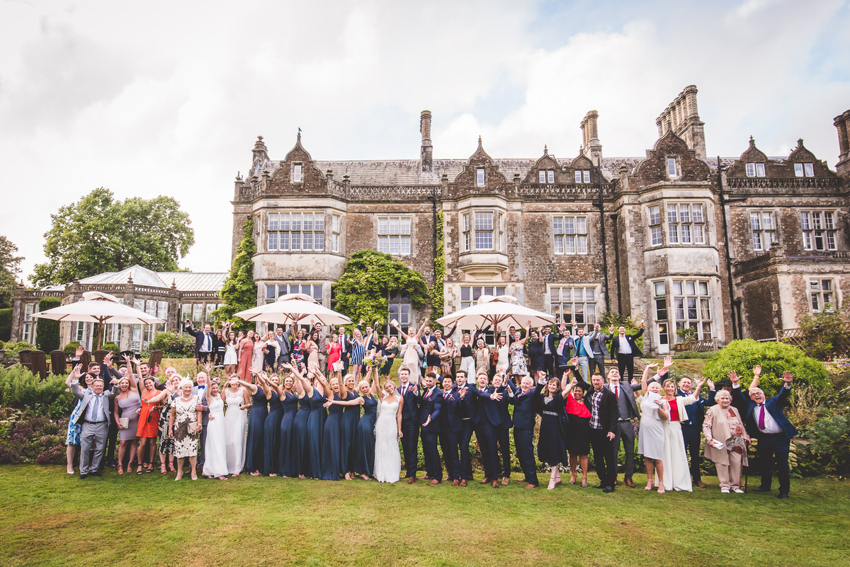 Wiston House group photo