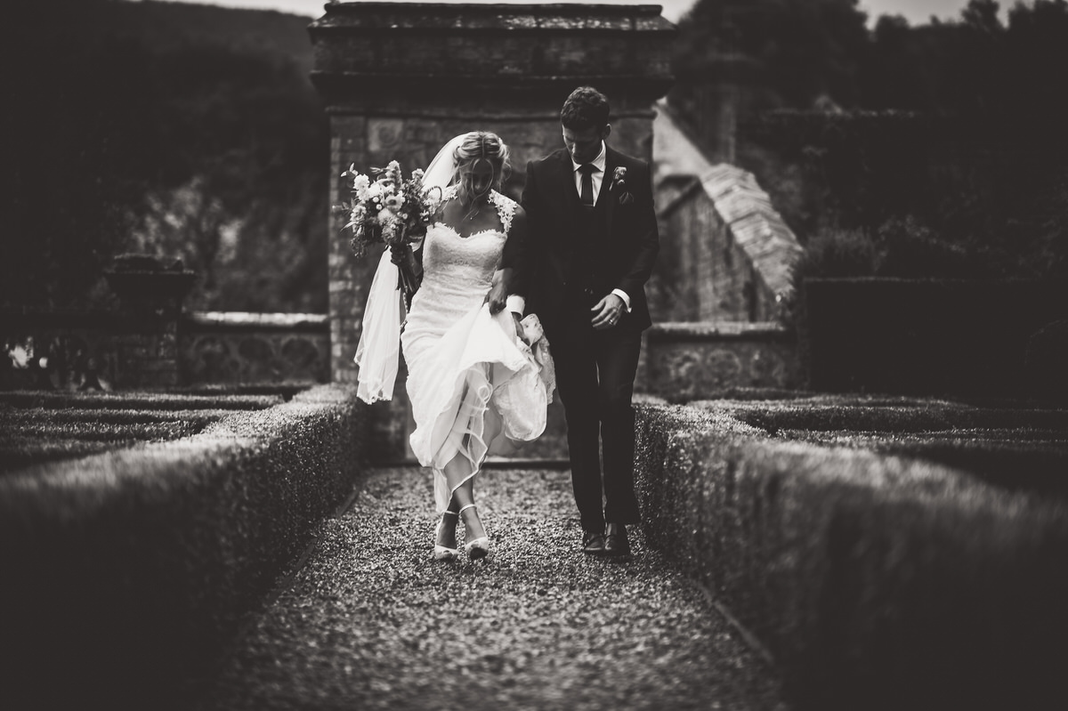 Wiston House Wedding Photographer black and white