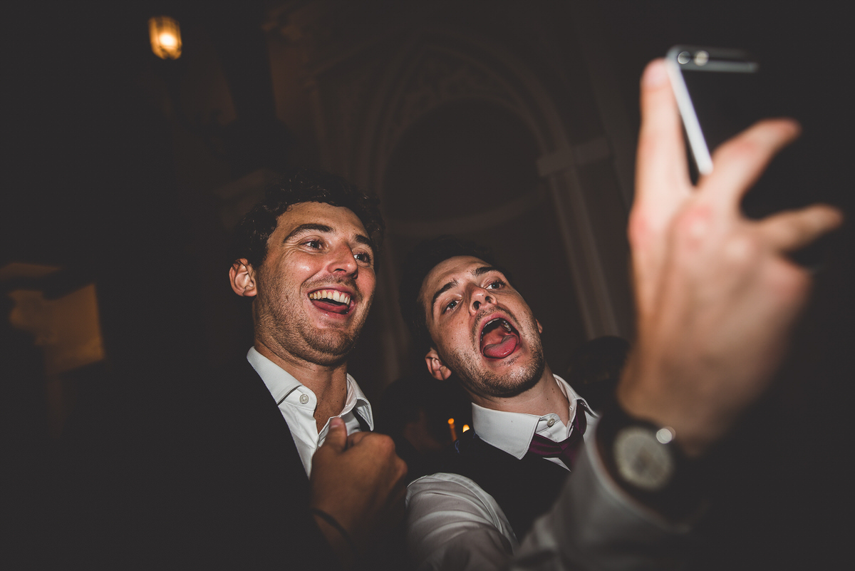 guest selfie