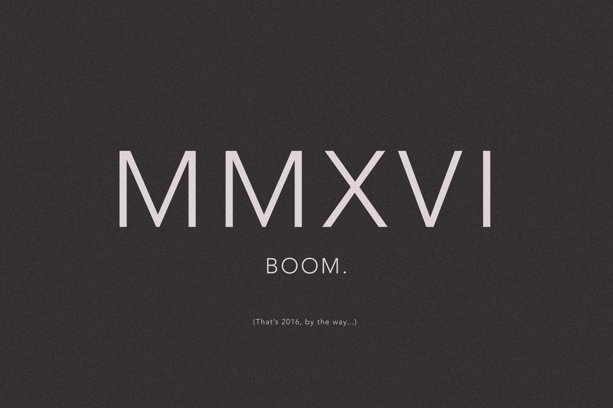 Best of 2016 MMXVI