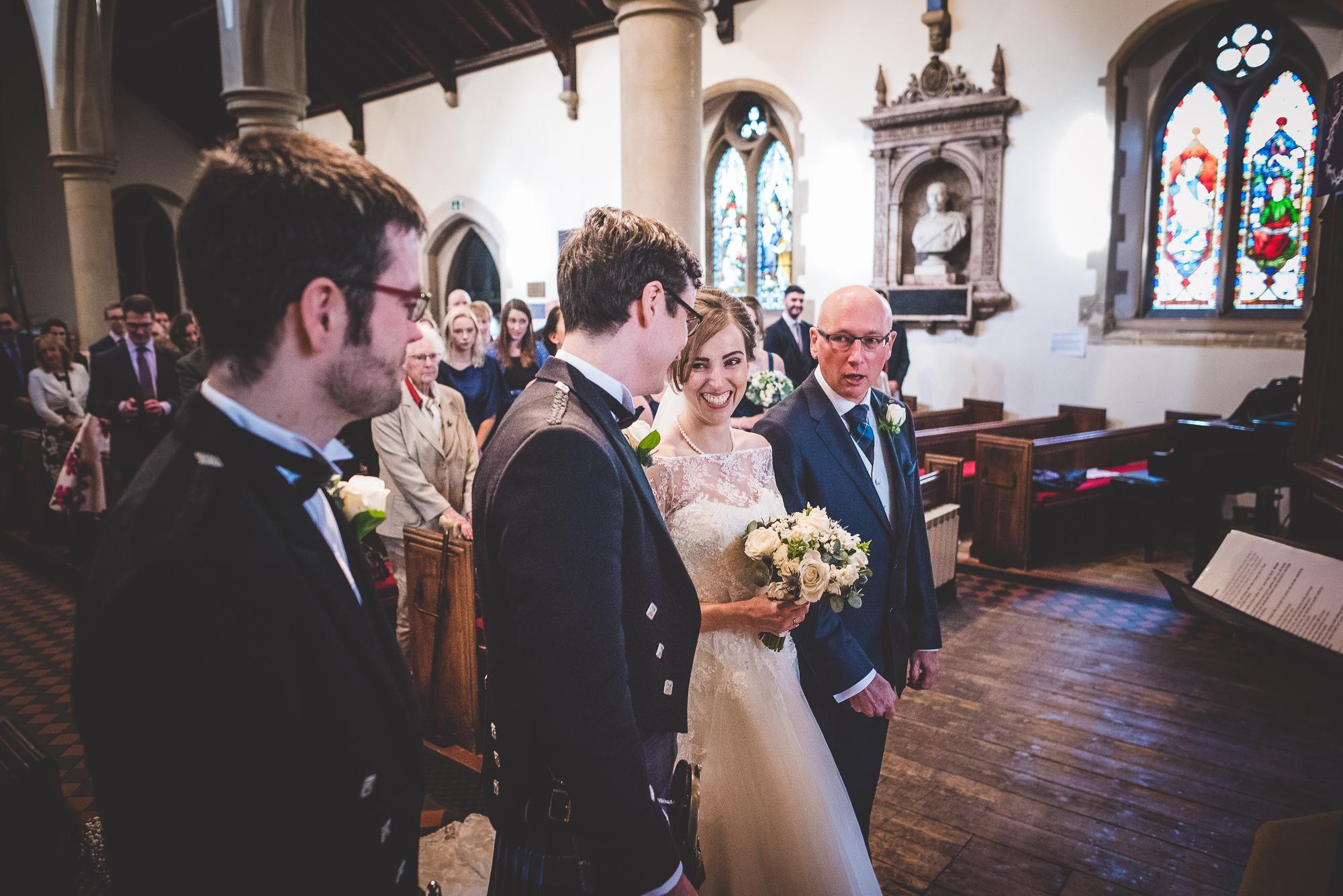 Hampton Court House Wedding Photography | Hannah & Ed HE81