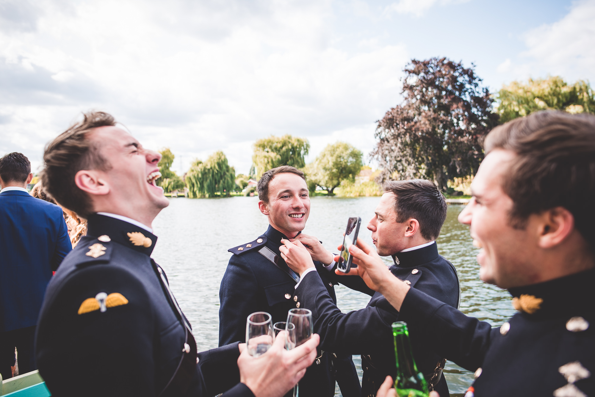 River Thames Wedding Photography | Sam & Rob Sam Rob 0234
