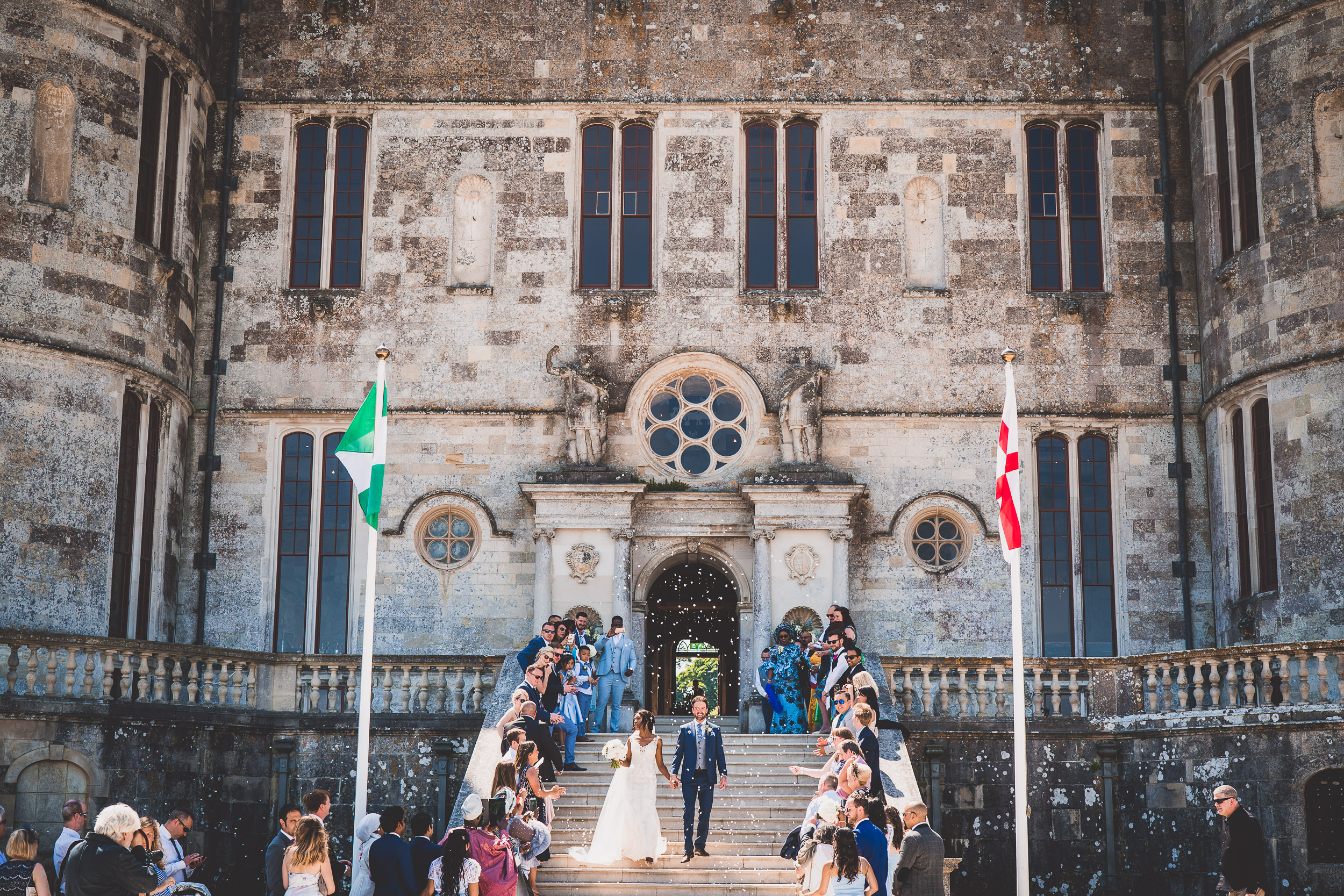 Lulworth Castle Wedding Photography | Amina & David Amina David ss 044